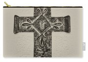 The Cross Carry-all Pouch by Bill Cannon
