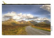 The Cuillin Mountains Of Skye Carry-all Pouch