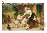 The Dancing Bear Carry-all Pouch by Frederick Morgan