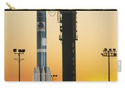 The Delta II Rocket On Its Launch Pad Carry-all Pouch