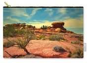 The Desert And The Sky Carry-all Pouch