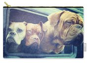 The Dog Taxi Is A Hummer Carry-all Pouch by Nina Prommer