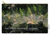 The Earth Laughs Carry-all Pouch