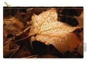 The Enlightened Maple Leaf Carry-all Pouch by LeeAnn McLaneGoetz McLaneGoetzStudioLLCcom