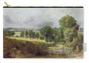 The Entrance To Fen Lane By Constable John Carry-all Pouch by John Constable