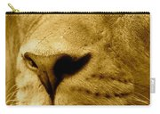 The Face Of God In Sepia Tones Carry-all Pouch