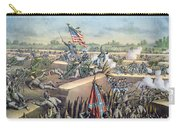 The Fall Of Petersburg To The Union Army 2nd April 1965 Carry-all Pouch