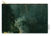 The Falling Rocket Carry-all Pouch by James Abbott Whistler