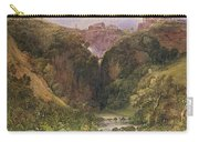 The Falls Of Tivoli Carry-all Pouch