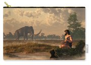 The First American Wildlife Artist Carry-all Pouch by Daniel Eskridge