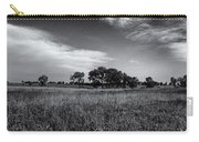 The First Homestead In Black And White Carry-all Pouch
