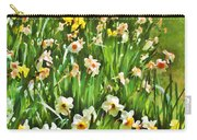 The Flower Bed Carry-all Pouch