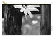 The Flower Bw Carry-all Pouch