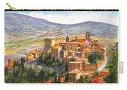 The Fortified Walled Village Of Gualdo Cattaneo Umbria Italy Carry-all Pouch