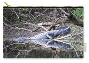 The Gator That Lives Under The Bridge Carry-all Pouch