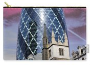 The Gherkin London Carry-all Pouch by Jasna Buncic