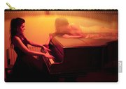 The Girl And The Ghost Carry-all Pouch by Semmick Photo