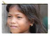 The Girl In The Plastic Earrings  Carry-all Pouch