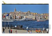 The Golden Horn Carry-all Pouch