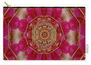 The Golden Orchid Mandala Carry-all Pouch