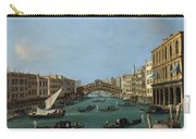 The Grand Canal Carry-all Pouch by Antonio Canaletto