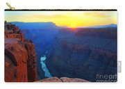 The Grand Canyon Solitude At Toroweap Carry-all Pouch
