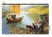 The Grape-pickers Of Portugal Carry-all Pouch by van der Syde
