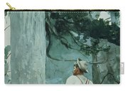 The Guide Carry-all Pouch by Winslow Homer