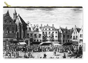 The Hague: Market, 1727 Carry-all Pouch
