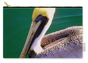 The Happy Pelican Carry-all Pouch by Karen Wiles