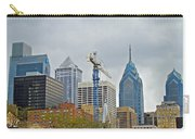 The Heart Of The City - Philadelphia Pennsylvania Carry-all Pouch by Mother Nature