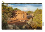 The Hogan Where  We Stayed Canyon Dechelly Nps Carry-all Pouch