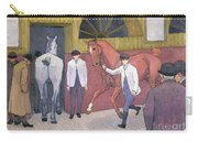 The Horse Mart  Carry-all Pouch by Robert Polhill Bevan