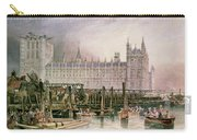 The Houses Of Parliament In Course Of Erection Carry-all Pouch
