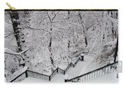 The Hundred Steps In The Snow Carry-all Pouch
