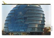 The Imposing Glass Greater London Mayoral Building On The Banks Of The Thames Carry-all Pouch
