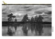 The Island In The Midlle In Bw Carry-all Pouch