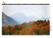The Julian Alps In Autumn At Lake Bohinj Carry-all Pouch