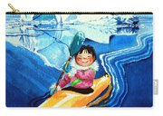 The Kayak Racer 13 Carry-all Pouch by Hanne Lore Koehler