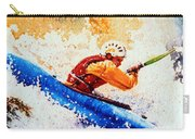 The Kayak Racer 17 Carry-all Pouch by Hanne Lore Koehler