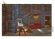 The King's Living Room Carry-all Pouch by Susan Candelario