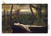 The Lady Of Shalott Carry-all Pouch by Walter Crane