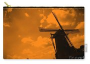 The Land Of Orange Carry-all Pouch by Carol Groenen