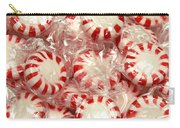 The Land Of Peppermint Candy Square Carry-all Pouch