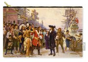 The Landing Of William Penn, 1682 Carry-all Pouch