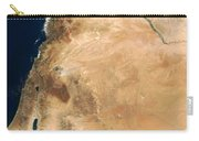 The Lands Of Israel Along The Eastern Carry-all Pouch by Stocktrek Images