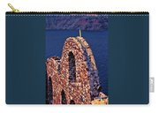 The Last Wall Standing Santorini Greece Carry-all Pouch