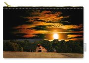 The Late Sam's Rd. Barn In The Moonlight Carry-all Pouch