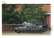 The Leopard 1a5 Main Battle Tank In Use Carry-all Pouch by Luc De Jaeger