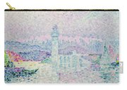 The Lighthouse At Antibes Carry-all Pouch by Paul Signac
